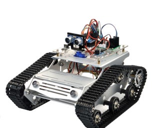 Arduino Tank Car Lesson 2- Electronic Parts Installation and Simple Test