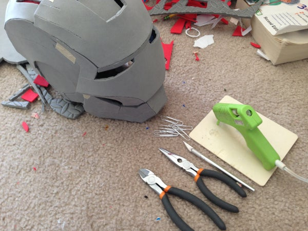 Bending, Shaping and Strengthening Foam Armor (Cheap and Easy Method)