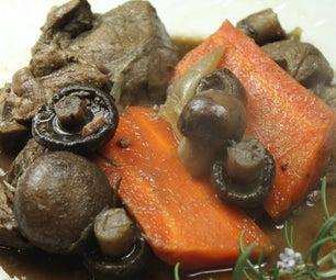 Boeuf À La Bourguignonne  - One Pot Braised Beef