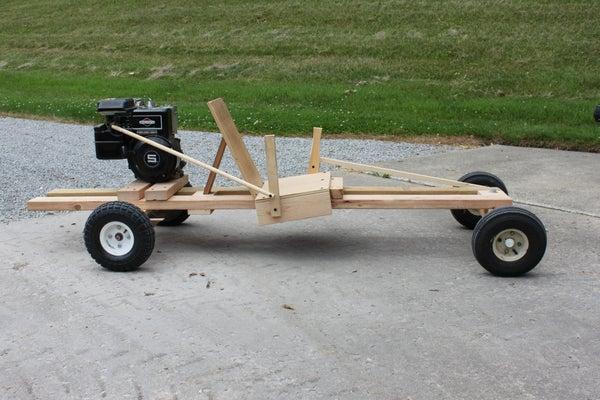 Homemake Wooden GoKart 2.0