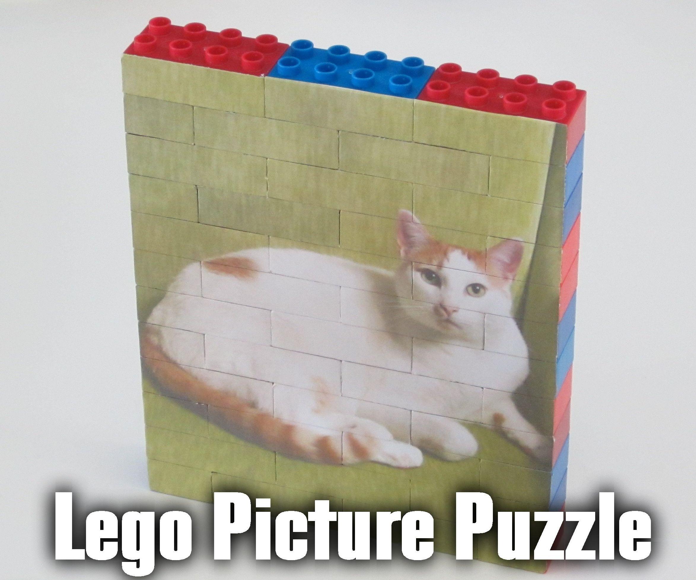 Building Block Picture Puzzle