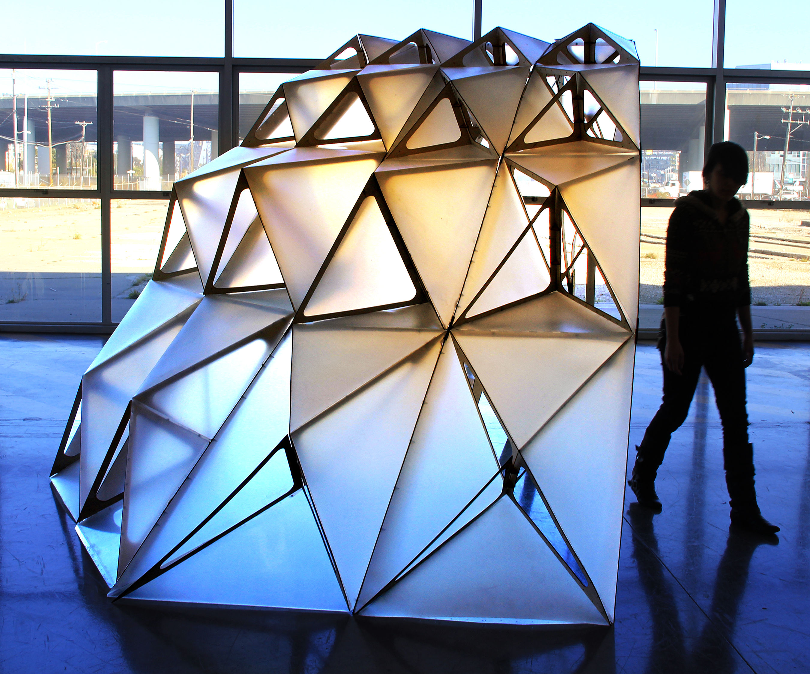 Dragon Shell Pavilion Prototype