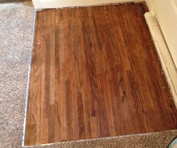 How to Refinish Your Hardwood Floor (under Carpet)