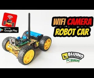 DIY ESP32 Camera Motor Shield - Wifi Camera Robot Car