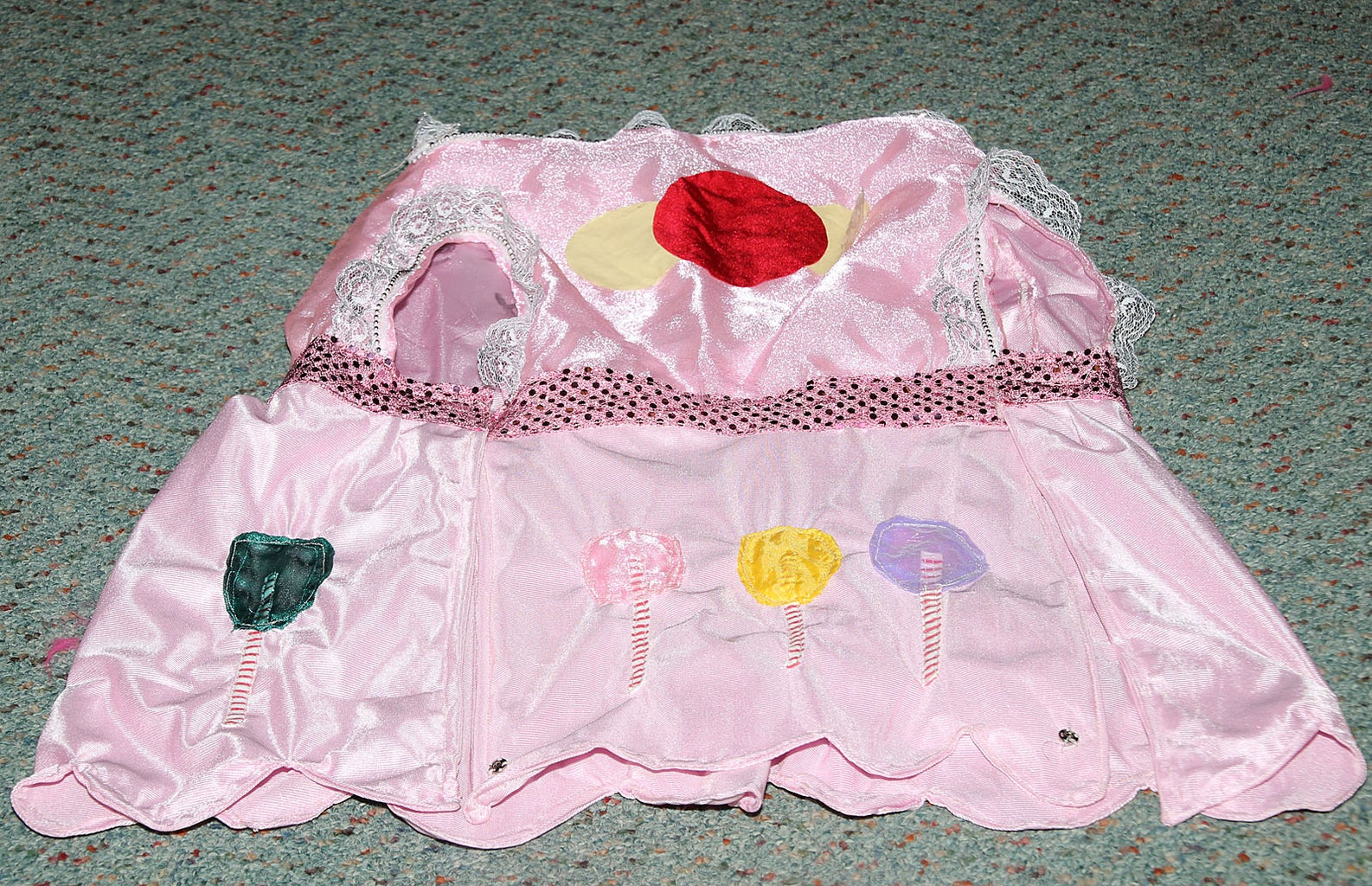 MAKING THE PRINCESS LOLLY DRESS