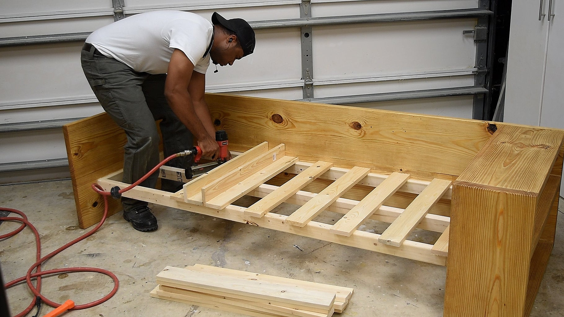 Installing the Slats and Front