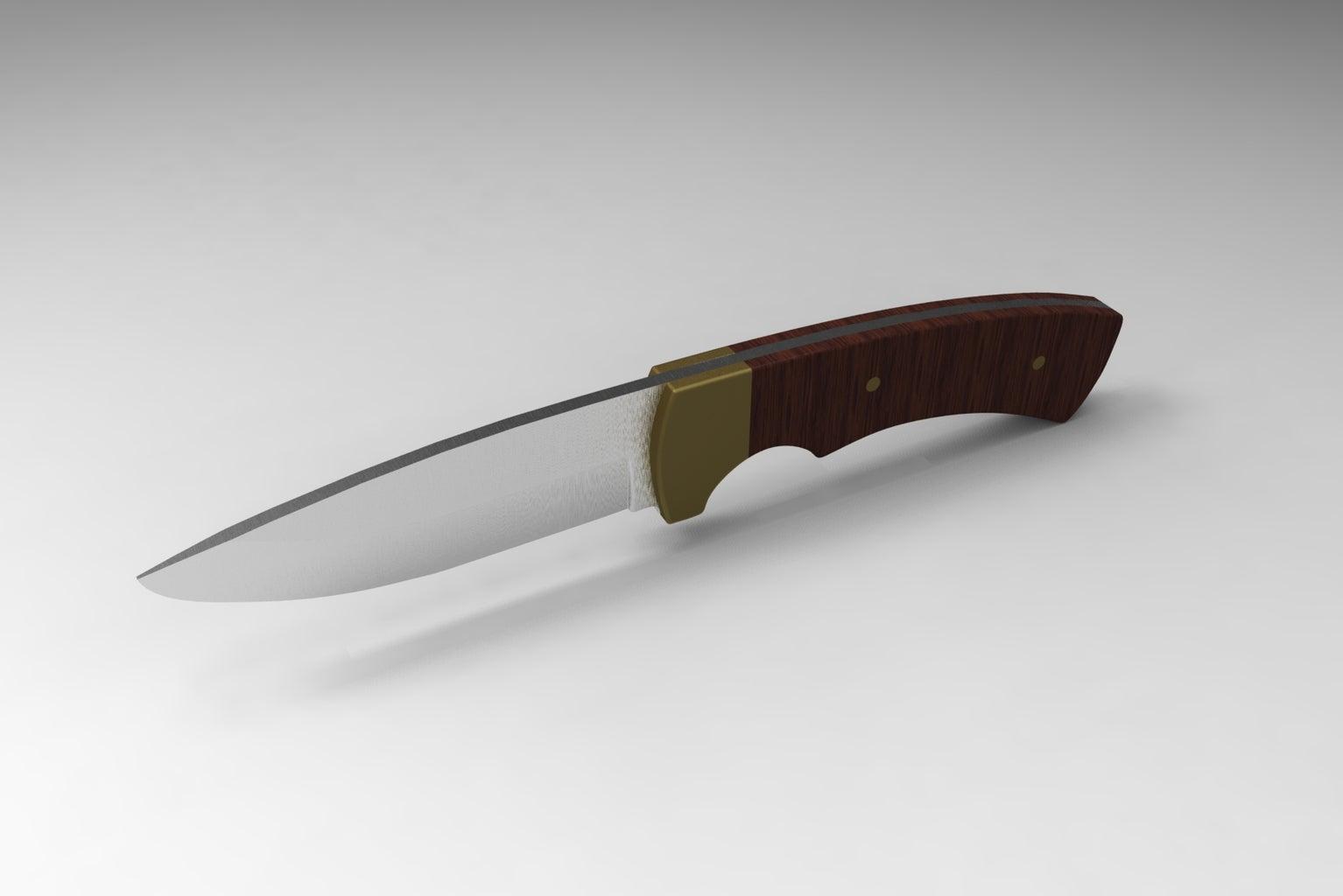 Design the Knife (CAD - Optional)