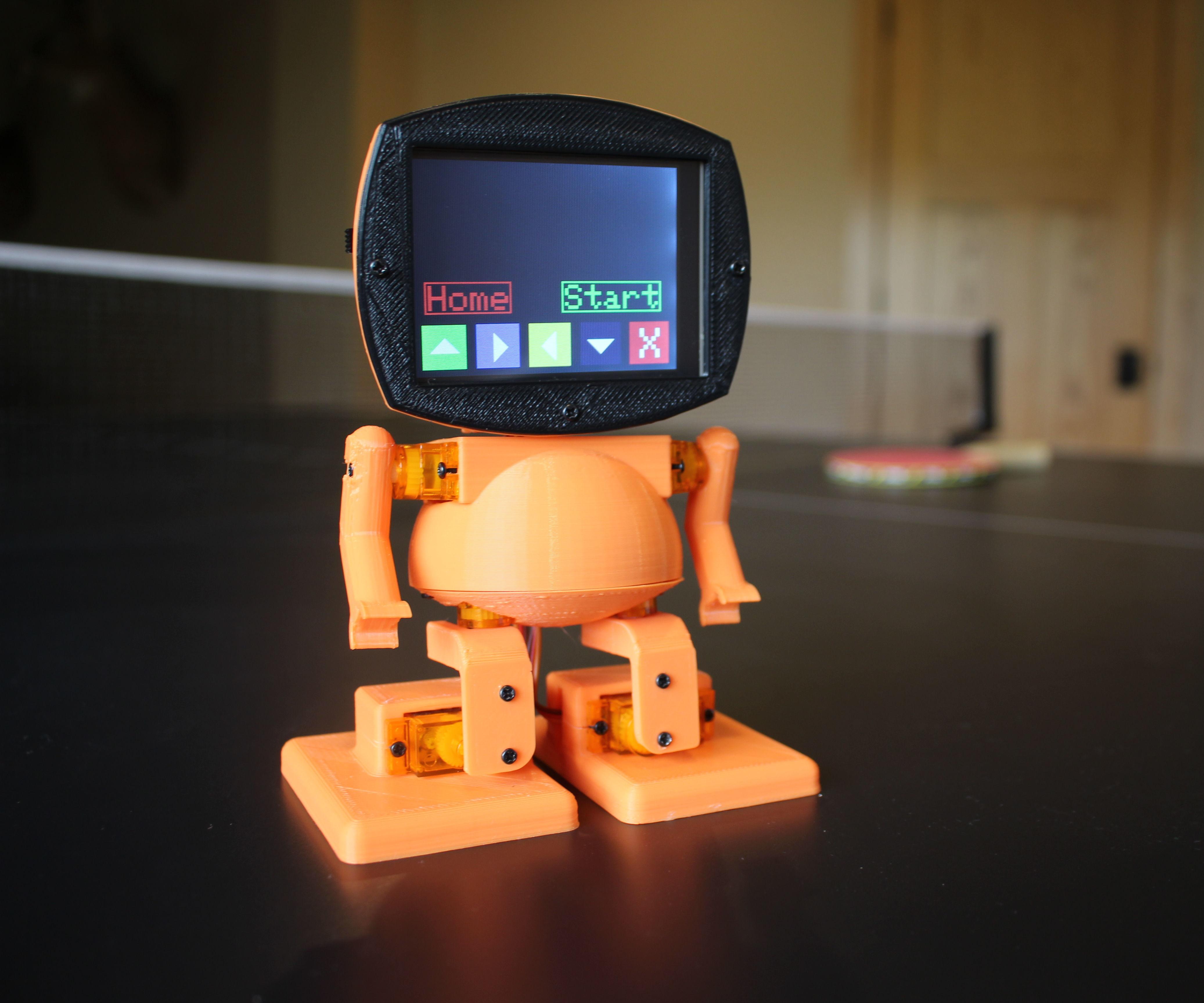 TyroBot: DIY Humanoid Robot