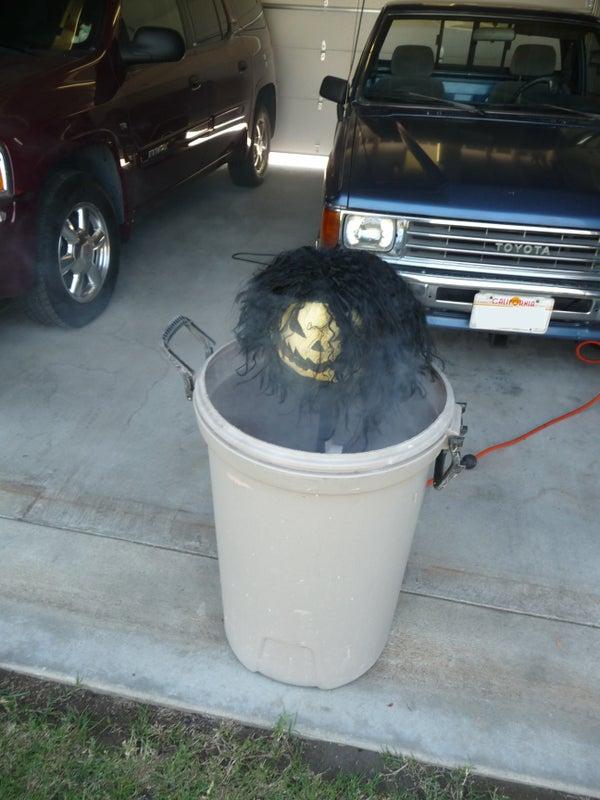Low Cost Halloween Pop-up Character