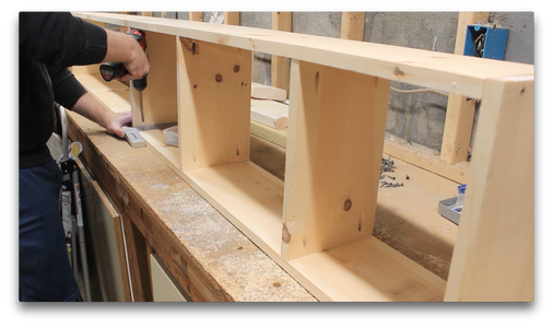 Attaching the Dividers