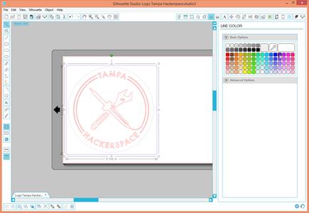 Prepare the Design for Two Color Cutting