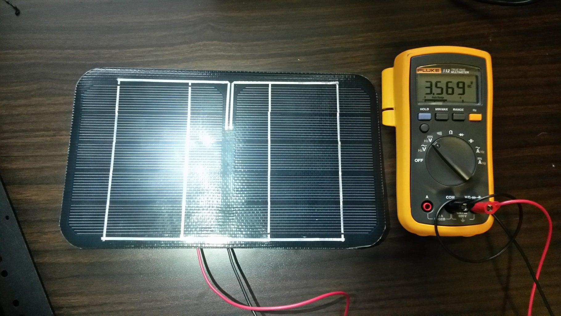 Build the Solar Panel