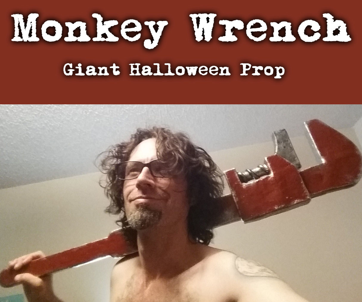 Monkey Wrench Giant Prop