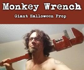 Monkey Wrench Giant Prop