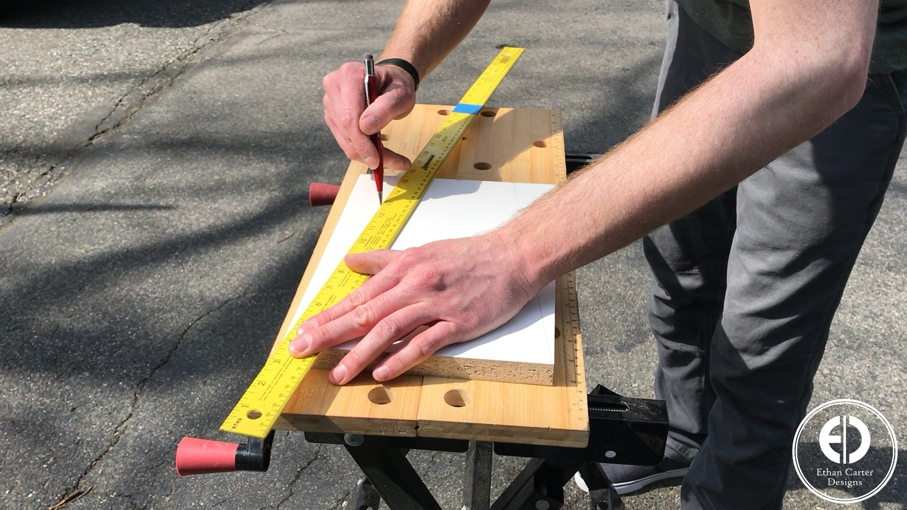 Cutting the Form Sides