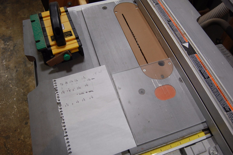 Cutting the Acrylic