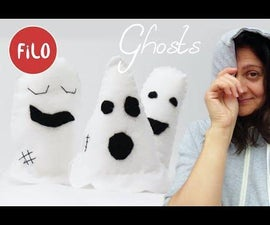 Sew With Me Cute Felt Ghosts