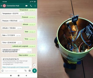 Loactor With Whether Live Report Using Chat Bot
