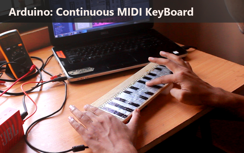 Arduino: Continuous MIDI Controller / KeyBoard