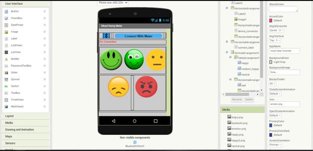 Mood Meter Controller App