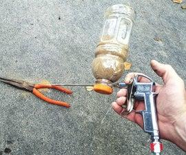 DIY $5.00 Sandblaster