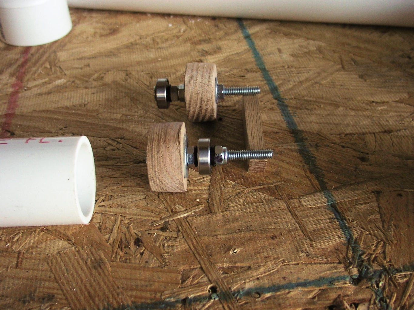 Make Centers for the Inside Pipe
