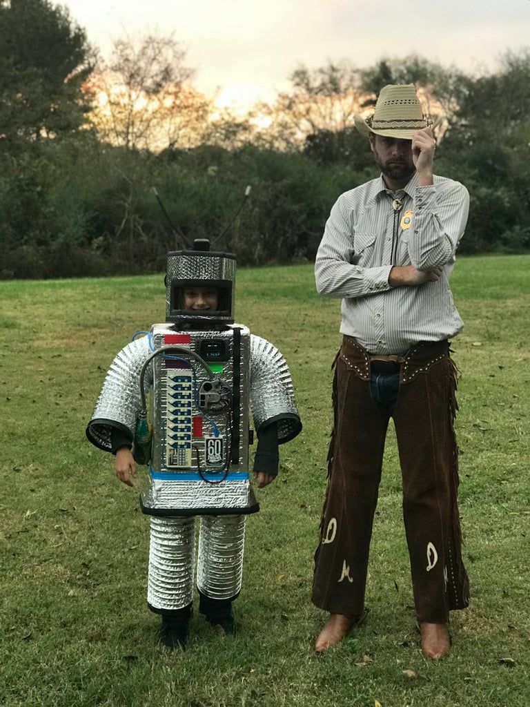 Cardboard Robot/Astronaut Costume