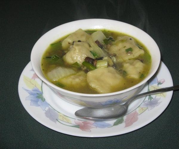 Shaggy Mains Wonton Soup
