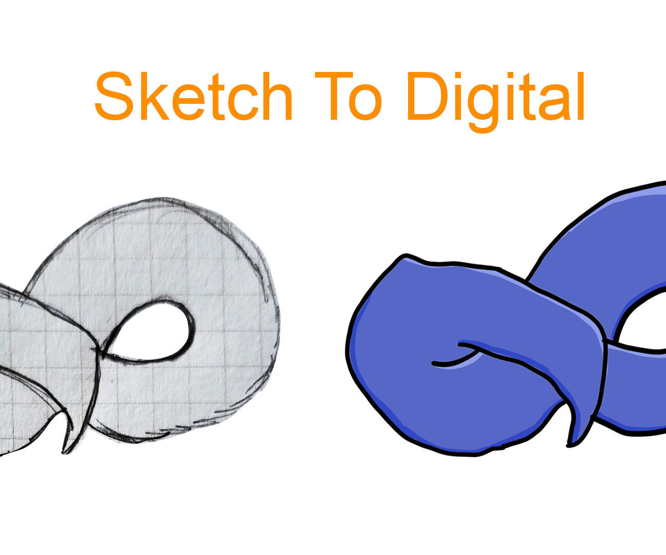 How to Convert a Sketch Into a Digital Drawing Using Photoshop