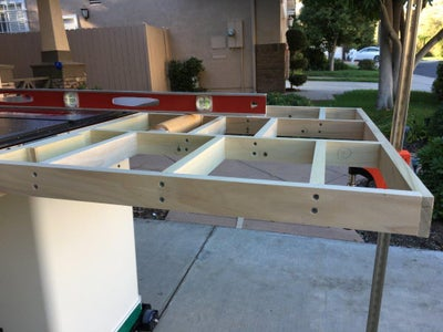 Attaching Frame to Hinges