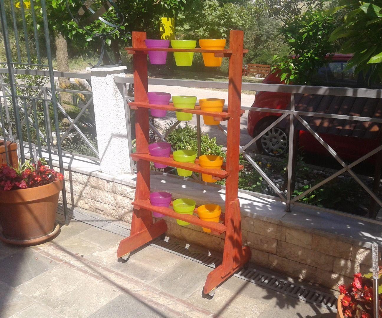 Vertical Pot Stand
