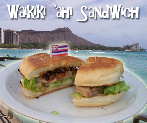 Waikiki 'ahi (Tuna Steak) Sandwich