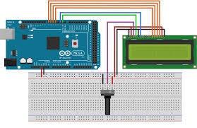 Realizar El Cableado De LCD
