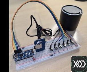 使用XOD编程的Arduino控制MP3播放器