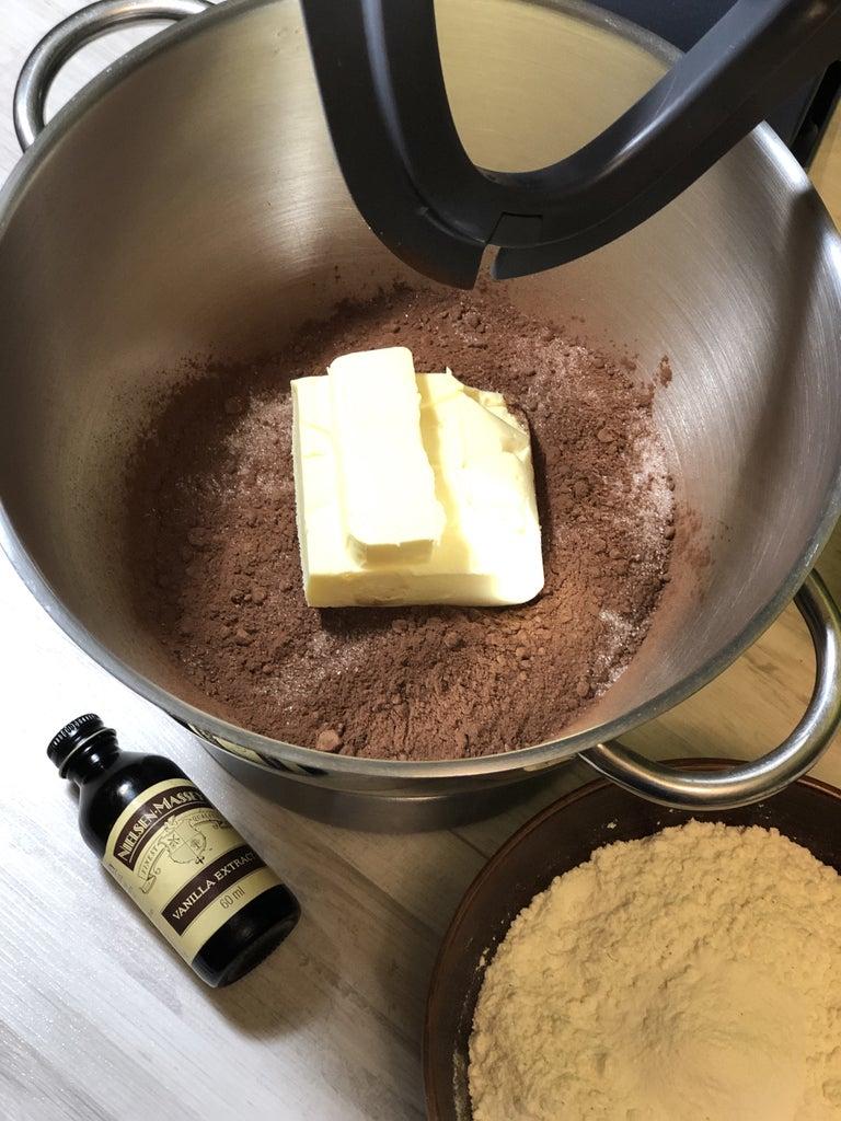 Chocolate Dough: Step 1