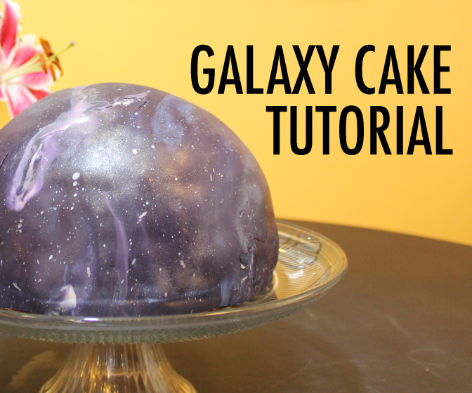 Doctor Who Themed Galaxy Universe Cosmos Cake