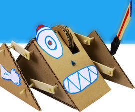 ⚔ Robot (Monster) Fight With Cadboard