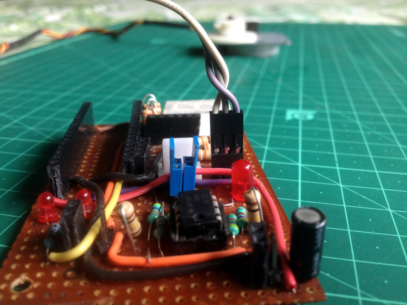 Connect the Controller Stepper Motor to the Amplifier Board