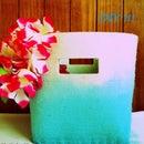 Tie and dye basket, DIY!