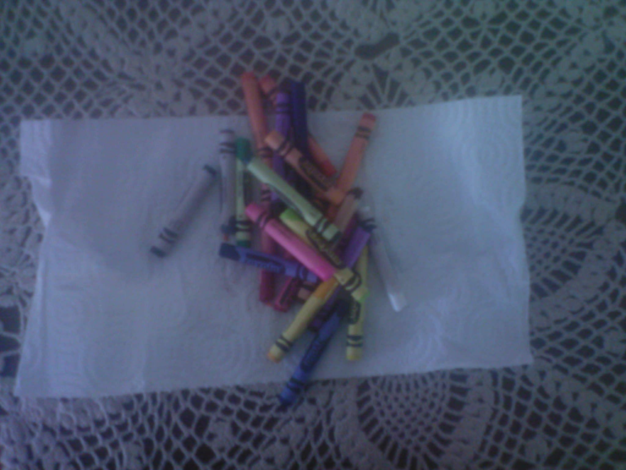 Make Multicolor Crayons