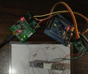 Make a Simple Electronic Scale With STONE Serial Touch Screen