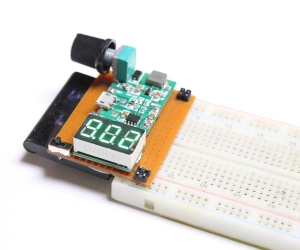 试验板-可变电源