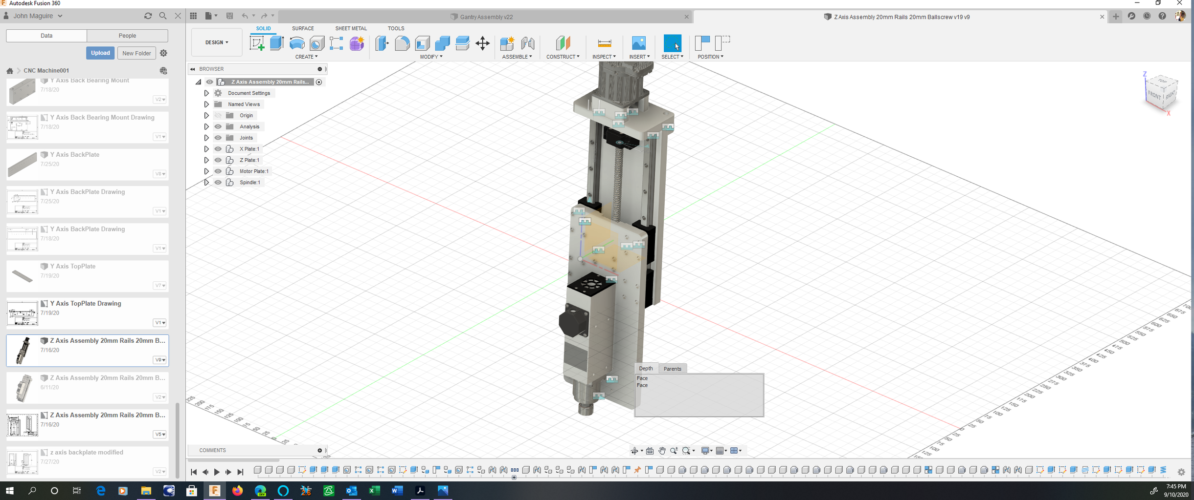 Design and Fusion 360 Component Build