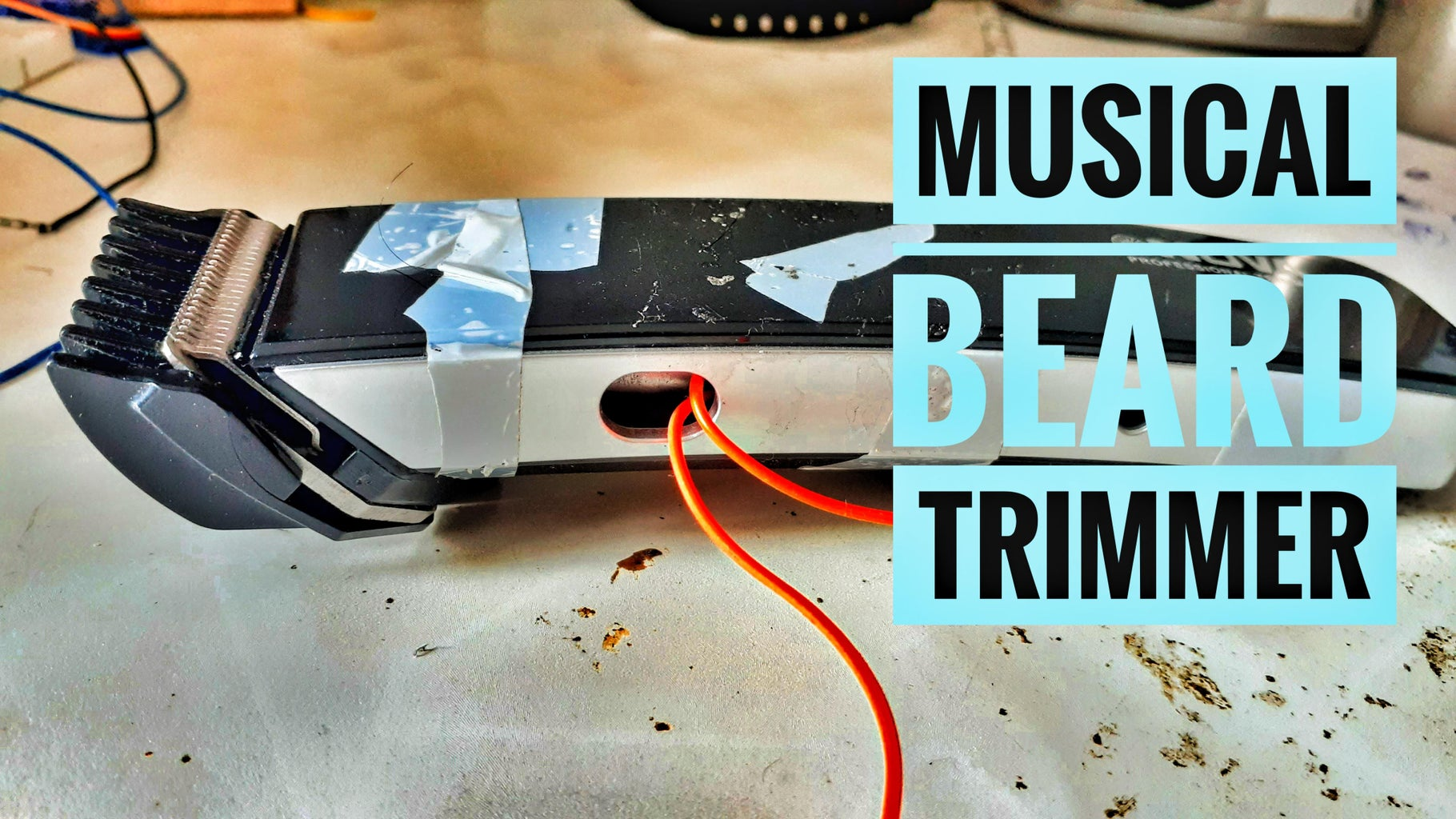 BEARD TRIMMER BECOMES a MUSIC PLAYER