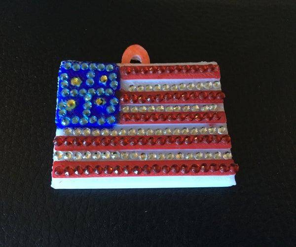 O' America the Beautiful Flag