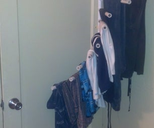 $9 Rotating Clothes Rack