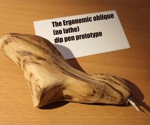 Erganomic Oblique Dip Pen Concept