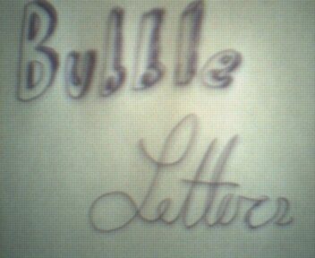 How to Shade and Make Bubble Letters