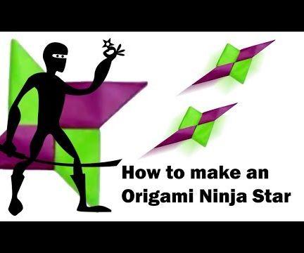 Make an Origami Ninja Star