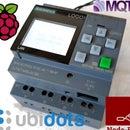 Plataforma de integración Ubidots con LOGO!  Siemens usando Node-RED